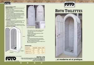 ROTO TOILETTES Front