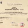 certicate rsb iso 4427-2 pn25